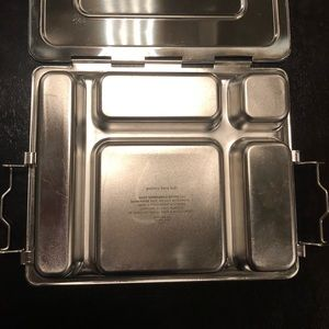 Pottery Barn Kids Other - Pottery Barn Stainless Steel Lunch Box